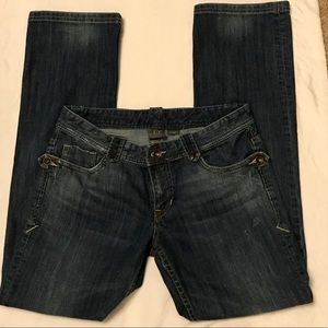 Armani Exchange Bootcut Jeans, Size 6 Short